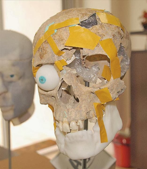 3D technology gives face to ancient female skull