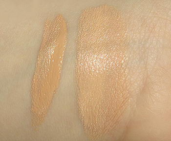 maybelline mineral power concealer cream swatch
