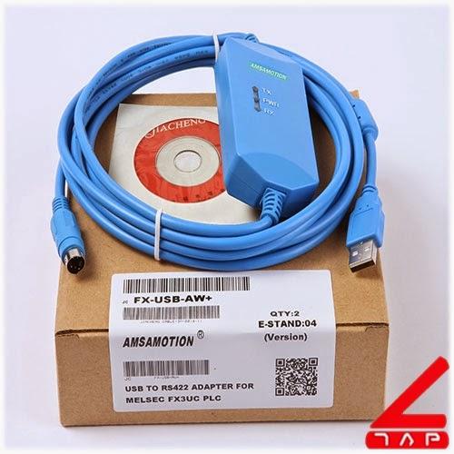 Cáp lập trình FX-USB-AW+