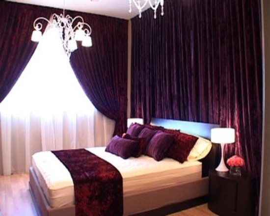 Pezzo bello interiors blog the psychology of color for Romantic purple master bedroom ideas