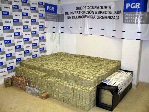 Η μεγαλύτερη κατάσχεση μετρητών από ναρκωτικά στην ιστορία!