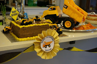 Construction theme birthday ideas