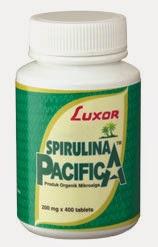 Spirulina | Membersihkan dan Memberi Gizi | Rp. 235.000/botol