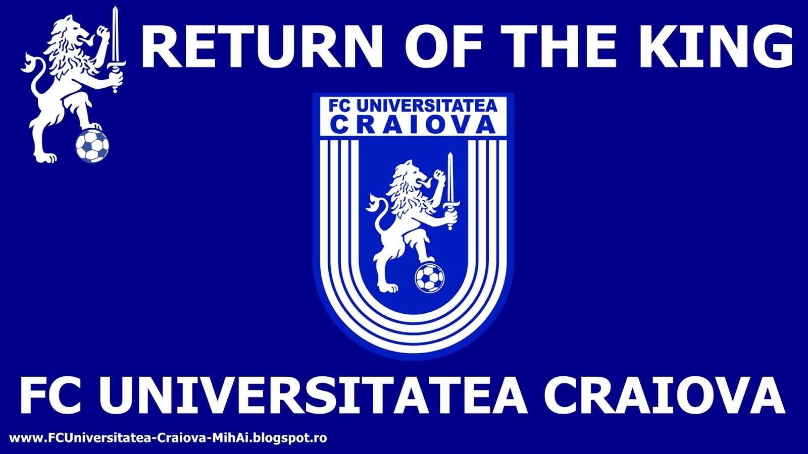 ❤ FC UNIVERSITATEA CRAIOVA - Wallpapers ALB - ALBASTRU