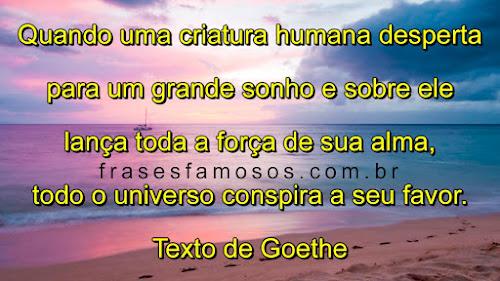 Texto de Goethe