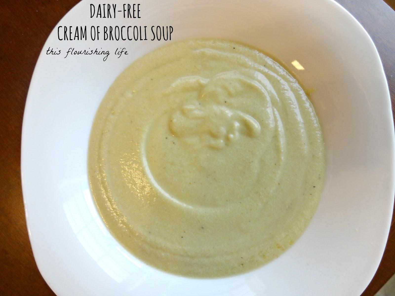 Recipe: Dairy-Free Grain-Free Cream Of Broccoli Soup
