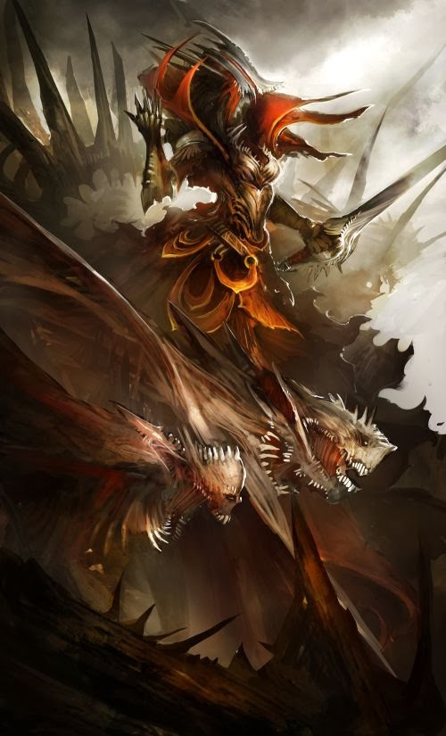 Daniel Kamarudin thedurrrrian deviantart illustrations medieval fantasy magic