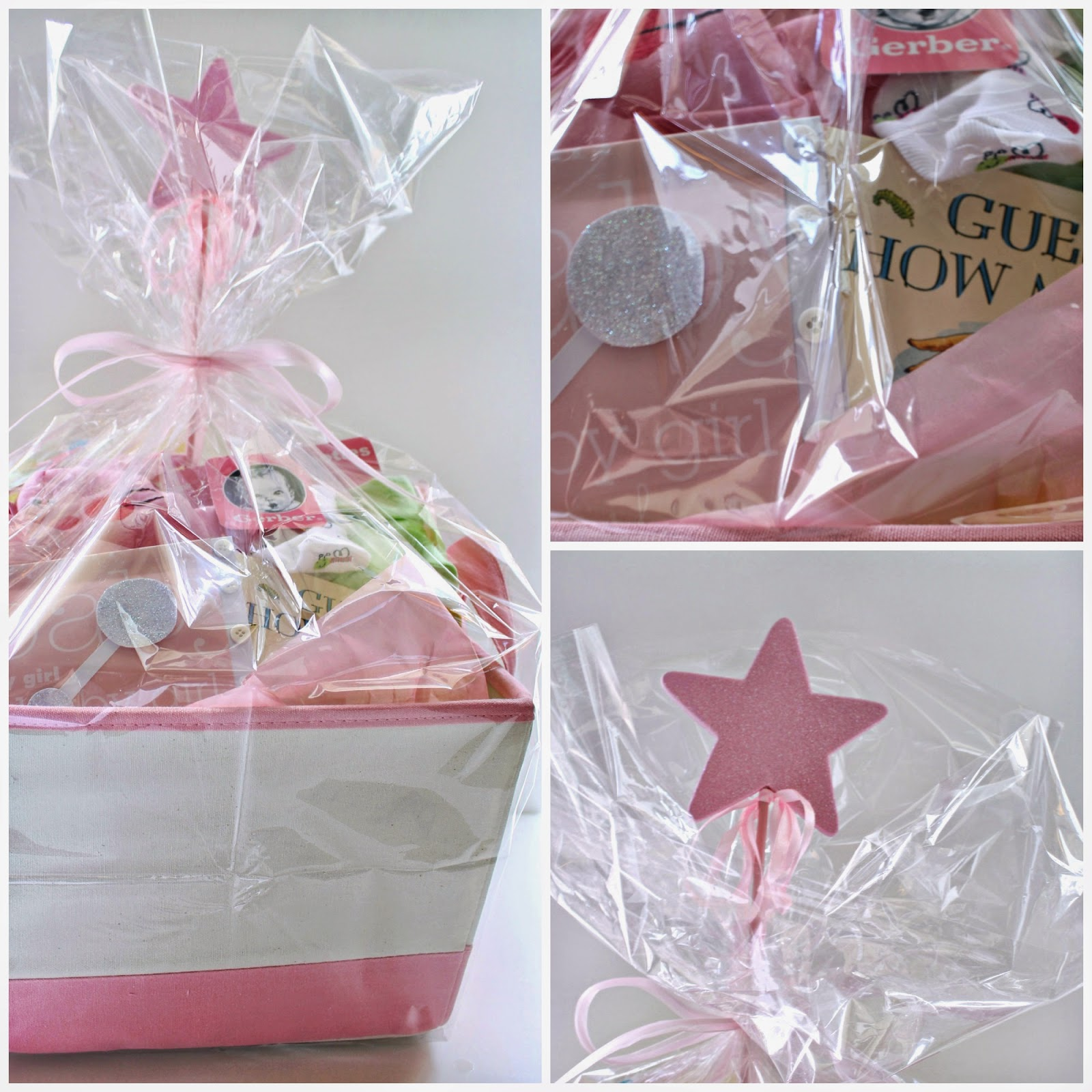 bunny blossom baby shower gift  wrapping, Baby shower
