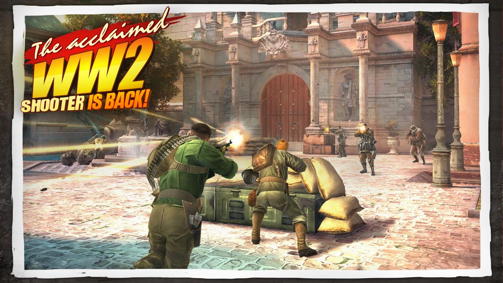 brothers in arms 3 apk + mod + data v1.4.1b android