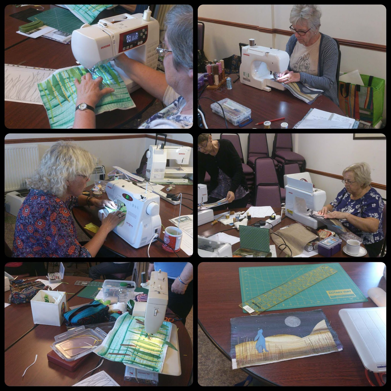 textile workshops @Quilt Routes