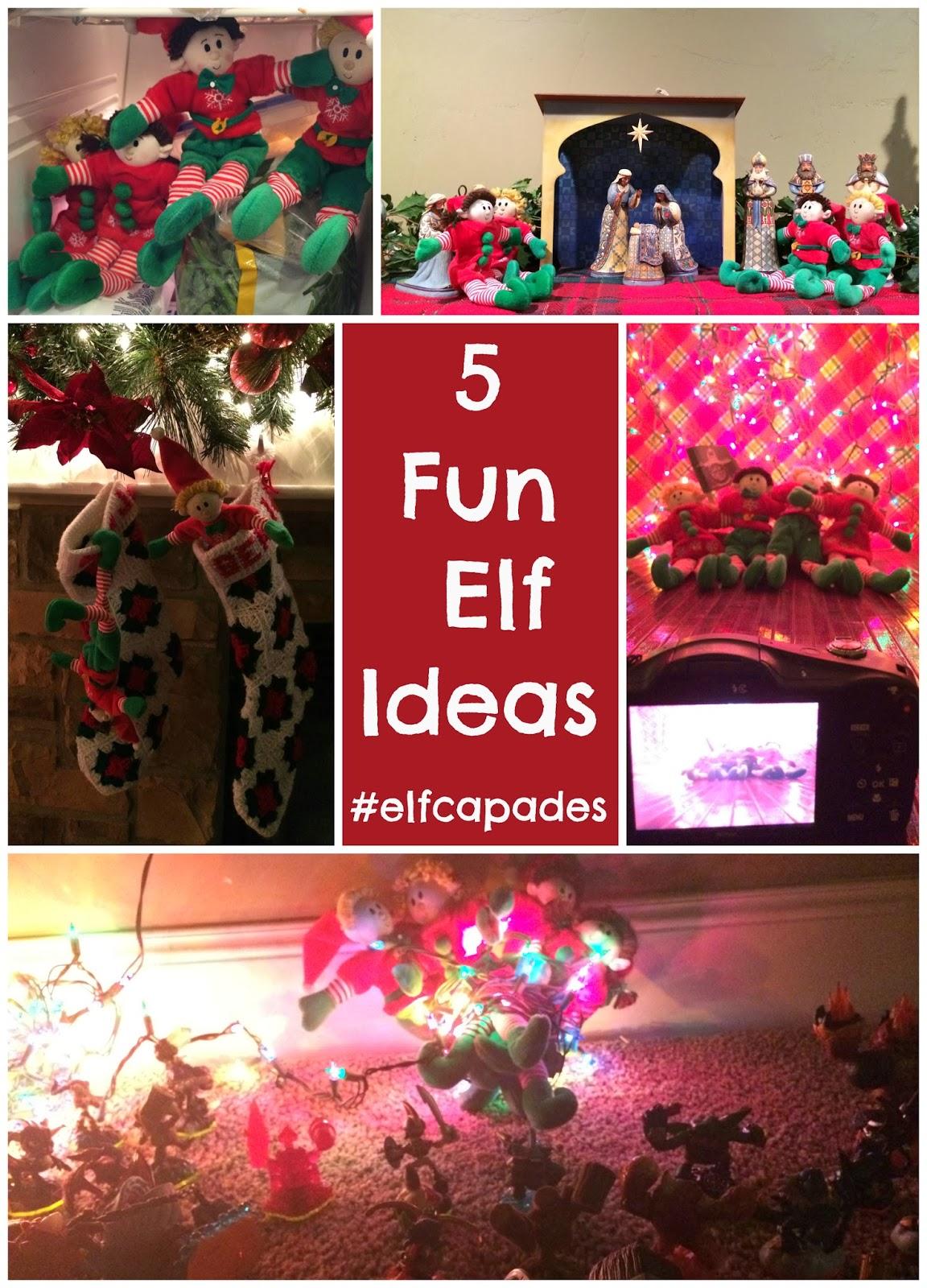 5 christmas elf ideas elfcapades elfmagic a sparkle of