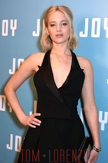 Jennifer Lawrence Hot Pic in Dior Black Couture Dress