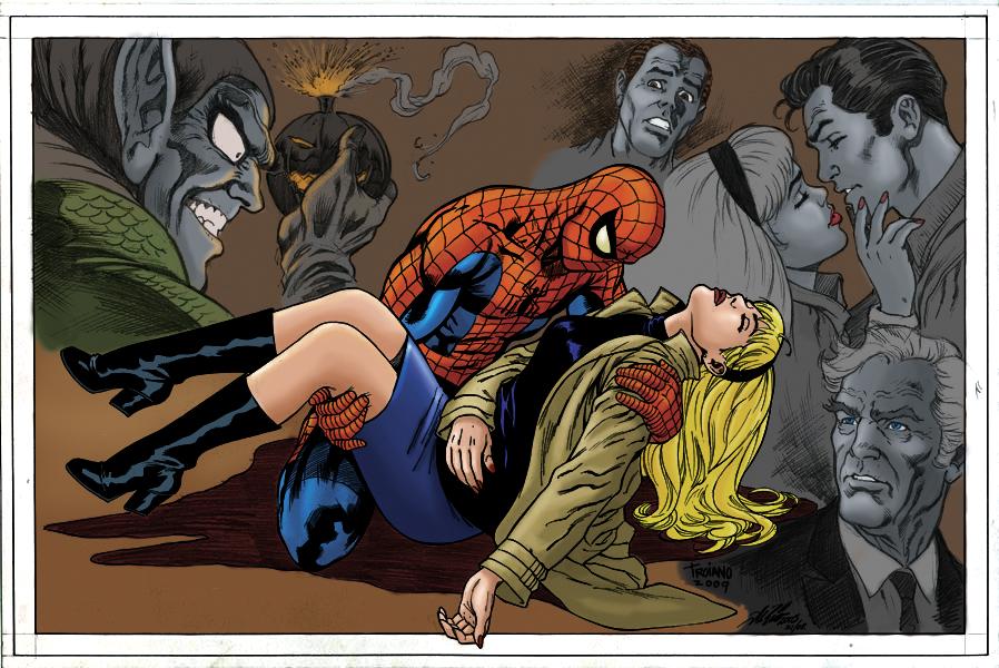 Fenskeland: SPIDER-MOVIE - PART V: Gwen Stacy vs. Mary ...