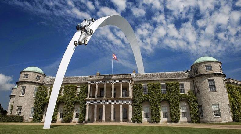Increíbles esculturas de autos por  Gerry Judah