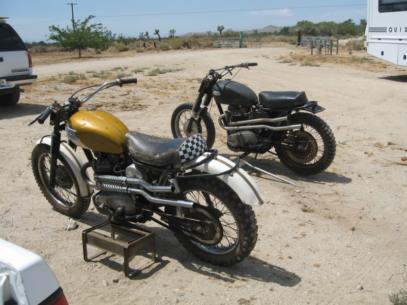 Triumph Off Road Motorcycles East Meet West Nelson S Bmw