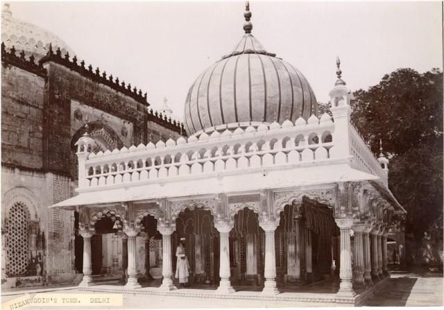 Nizamuddin Dargah, Delhi, India - 1890s