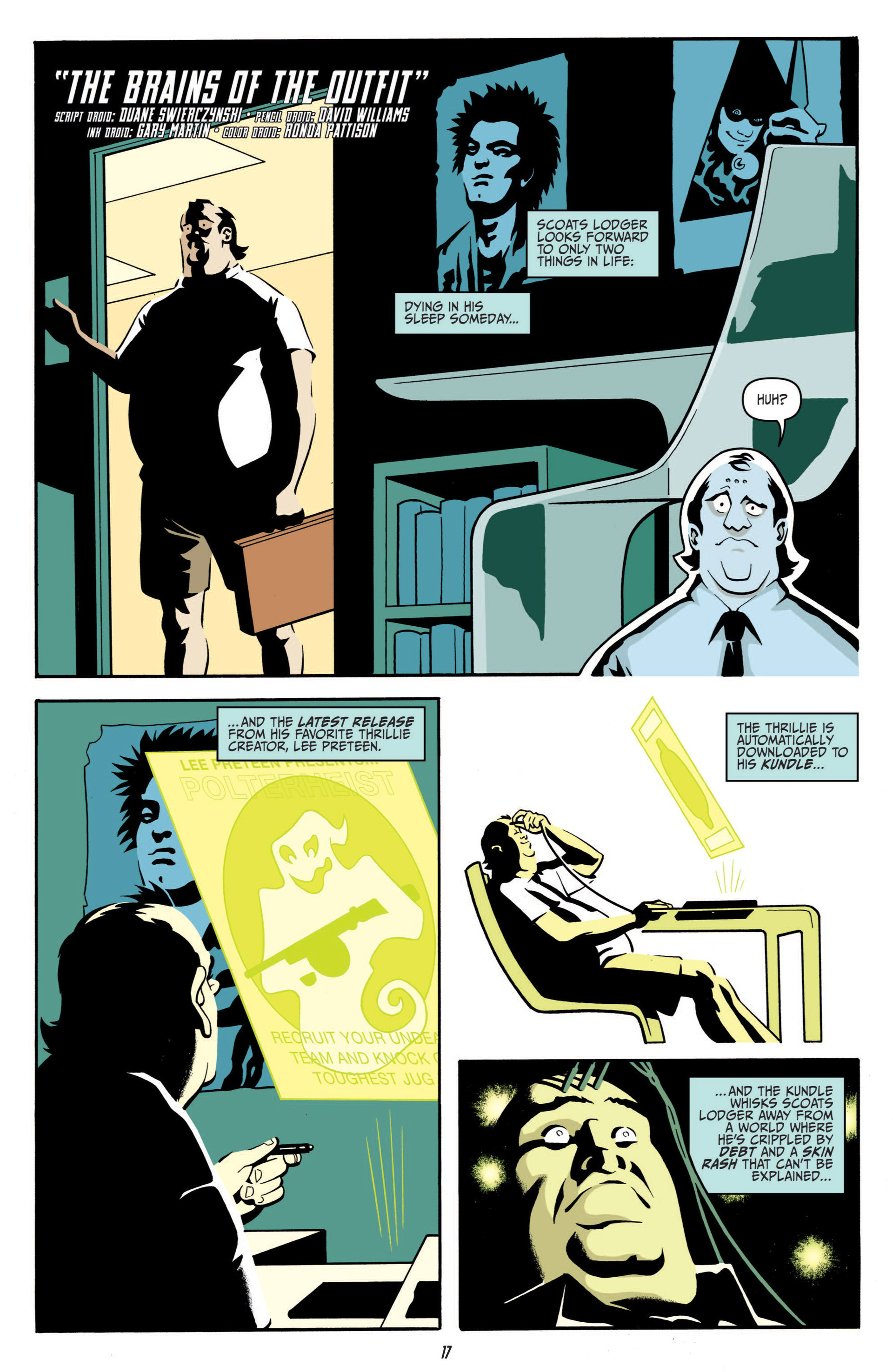 Read online Judge Dredd (2012) comic -  Issue #5 - 19