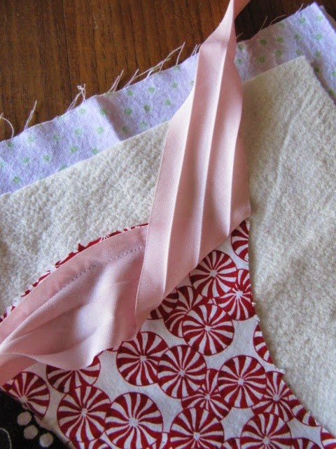 apple core quilt binding
