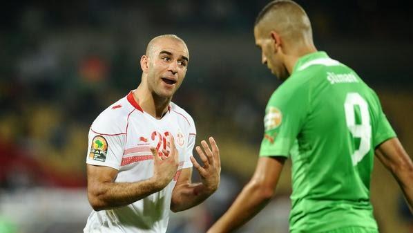 موعد و توقيت مباراة تونس و الجزائر الاحد 11 /1 / 2015 جانفي 2015