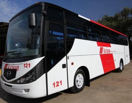 Sewa Bus Pariwisata Arion