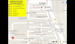 ..... MAP TO IDAMAN SPA KAJANG