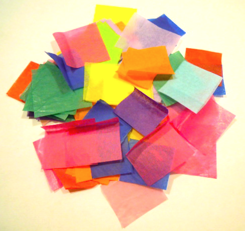 tissue paper squares How to tissue paper flowers tissue paper flowers are perfect for center pieces or any occasion that requires pretty flowers this is a fun and engaging craft that can be personalized in many different ways  cut the tissue paper into a 10 inch square for larger flowers, increase the size of the squares or decrease the size for smaller flowers.