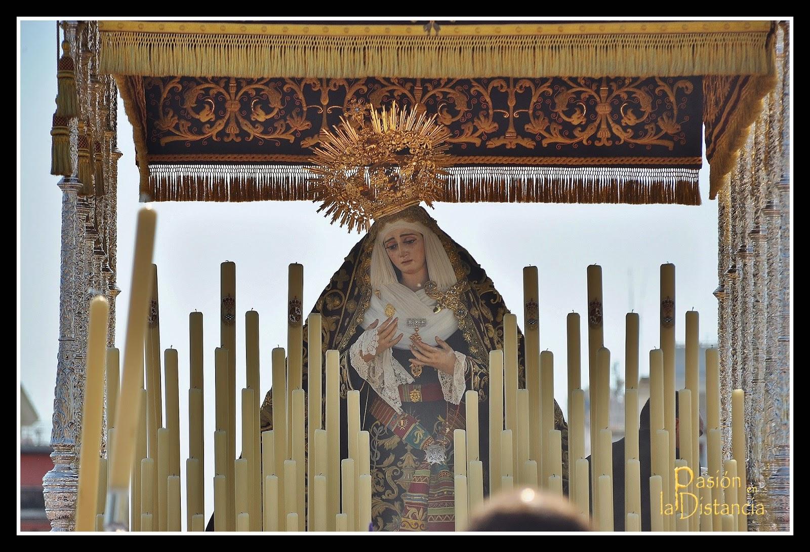 Virgen de la Victoria Cigarrera Jueves Santo 2014