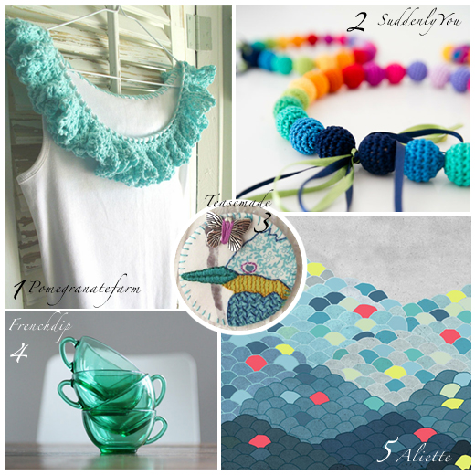 Etsy selection by Chez Violette :vintage and handmade creations