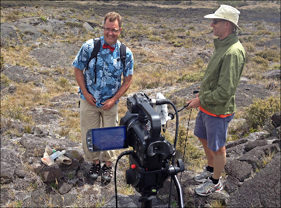 Steve Lundblad geology Hawaii Hilo