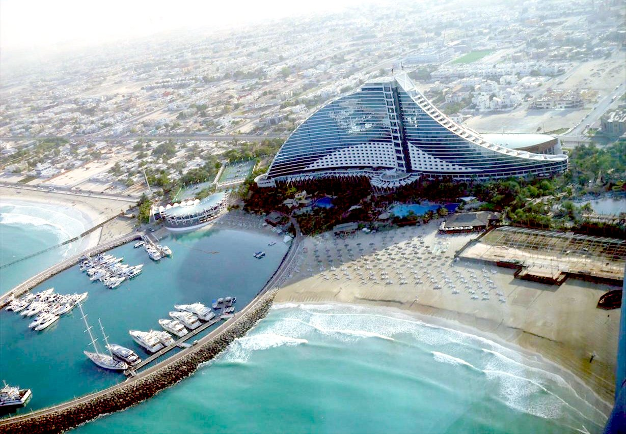 Jumeirah beach hotel world beautiful places for Best beach resorts in the world