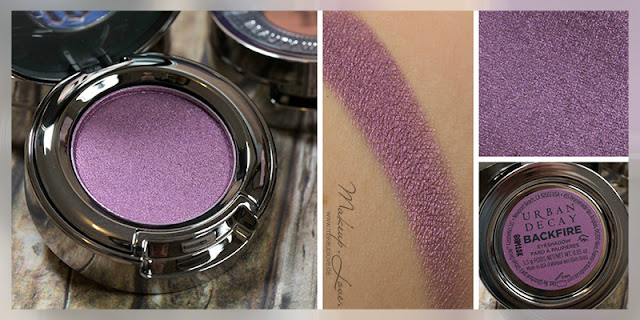 Urban Decay Summer Launches 2015 Eyeshadows Backfire Swatch