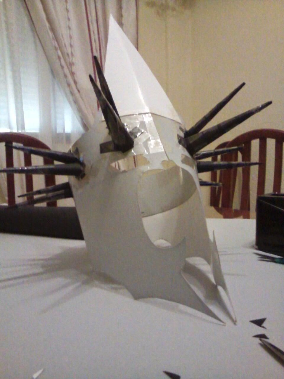 Los chiribiquis de Winga: Cómo hacer una máscara de El señor de ...