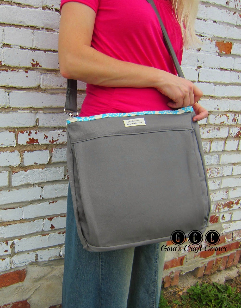 Original Slouchy Hobo (Conceal and Carry) by Gina's Craft Corner