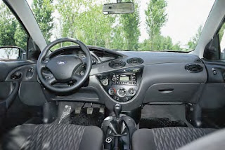 interior Ford Focus GNC