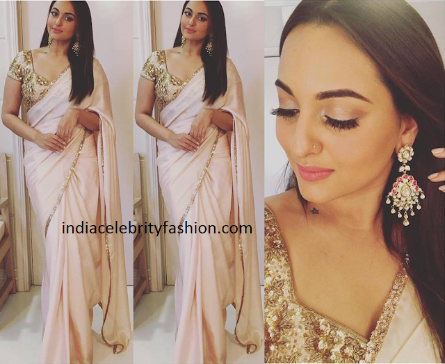 Sonakshi Sinha in Seema Khan Saree