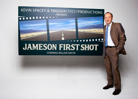 Kevin Spacey Jameson First Shot