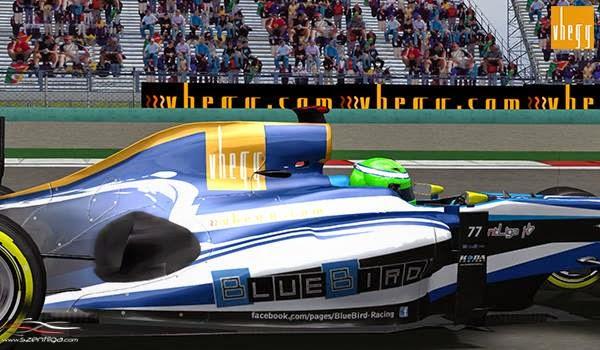 Formula-1 Szentliga, Szentliga, szimulátorbajnokság, sport, F1, BlueBird Racing, Kínai Nagydíj,