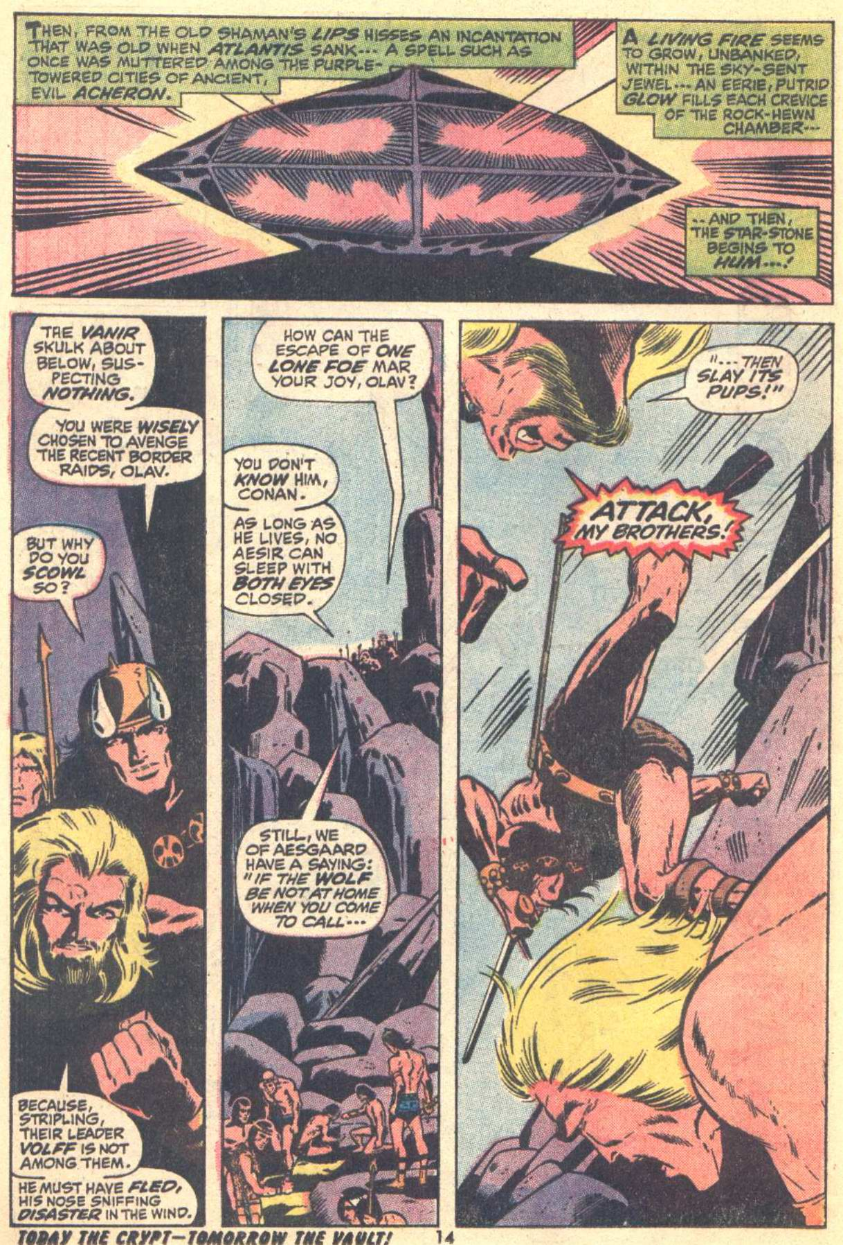 Conan the Barbarian (1970) Issue #22 #34 - English 11