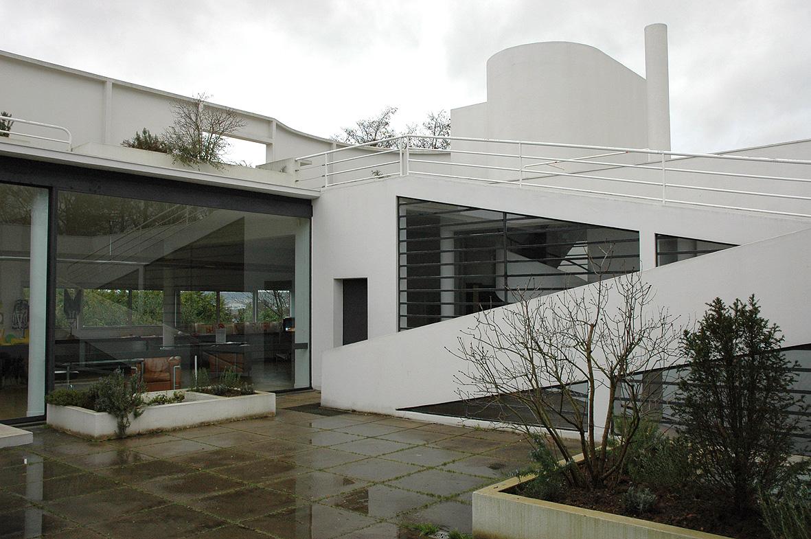 villa savoye poissy francia charles douard jeanneret le corbusier la polilla radiactiva. Black Bedroom Furniture Sets. Home Design Ideas