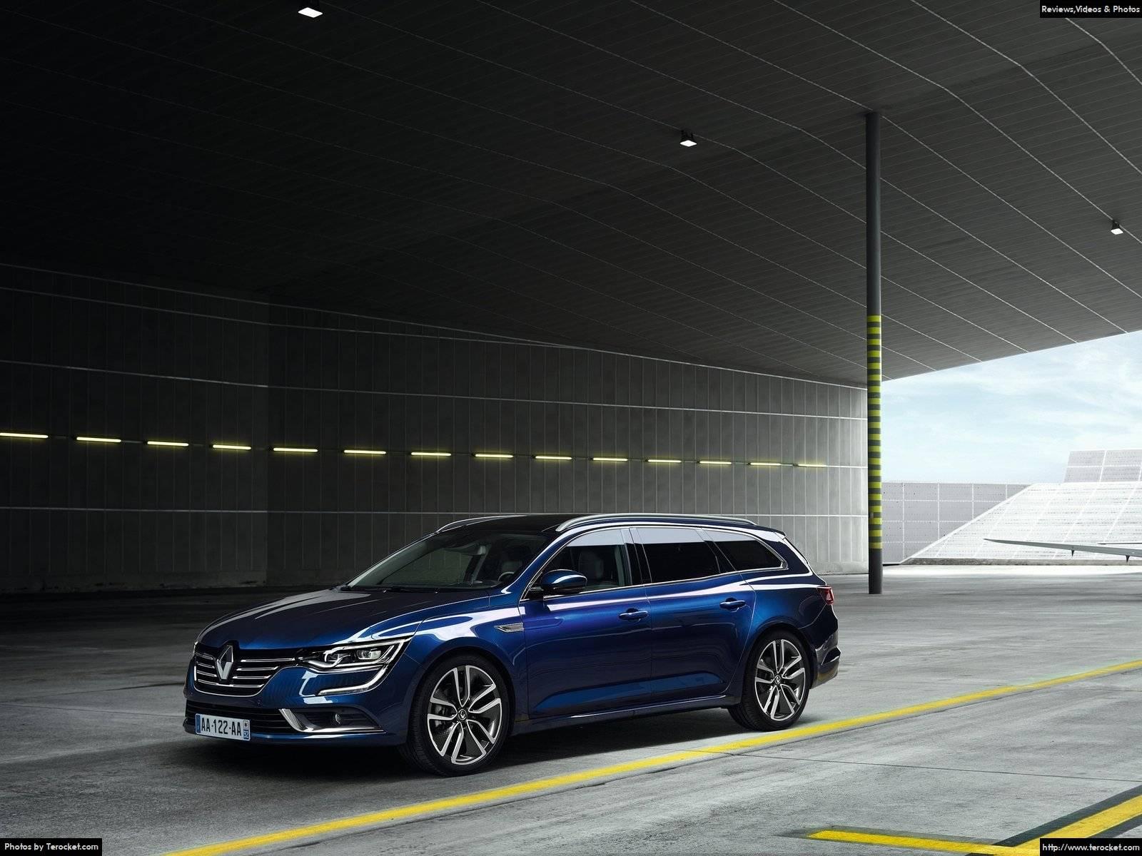 Hình ảnh xe ô tô Renault Talisman Estate 2016 & nội ngoại thất