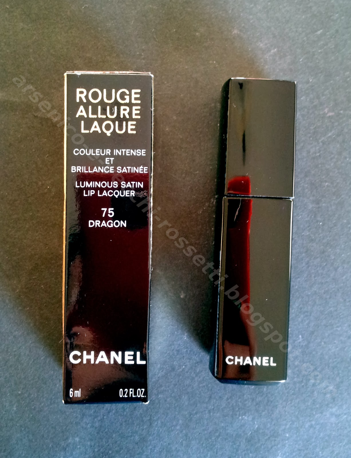 Chanel Rouge Allure Laque 75 Dragon