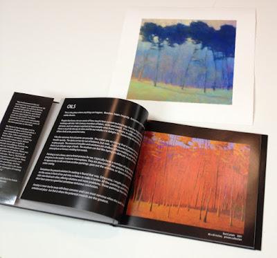 Ken Elliott book, American Landscapes  hardback, 94 pages with giclee print
