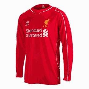 jersey lfc lengan panjang, grade ori, made in thailand, jual online baju bola liverpool home, away, third, long sleave, made in thailand, enkosa.com, kids, jaket, ladies, elana