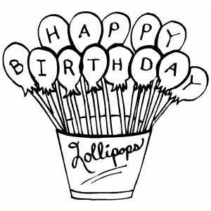 Fichas de Ingl s para ni os Happy Birthday para colorear