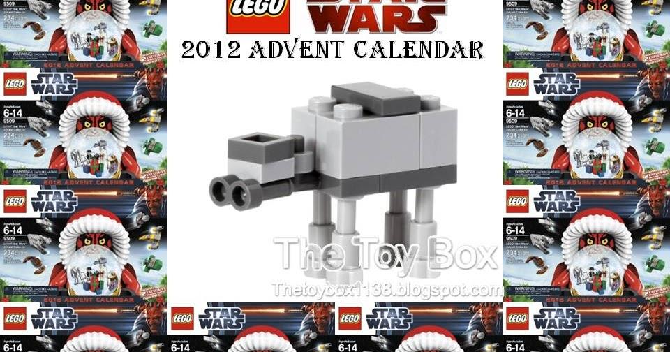 The Toy Box: Lego Star Wars Advent Calendar