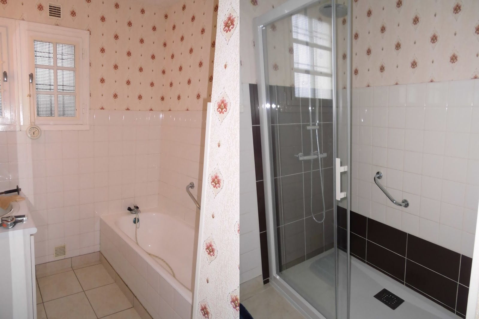 Michel le coz agencement d coration avant apr s salle for Salle de bain a renover