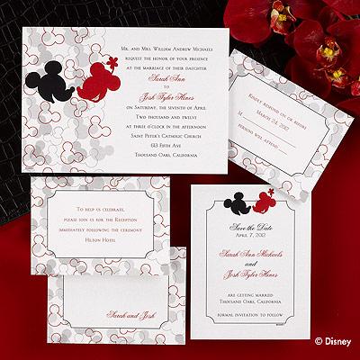 Disneyland Wedding Dreams Disney Invitations