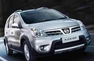 Daftar Harga Mobil Nissan LIVINA X—GEAR 2015
