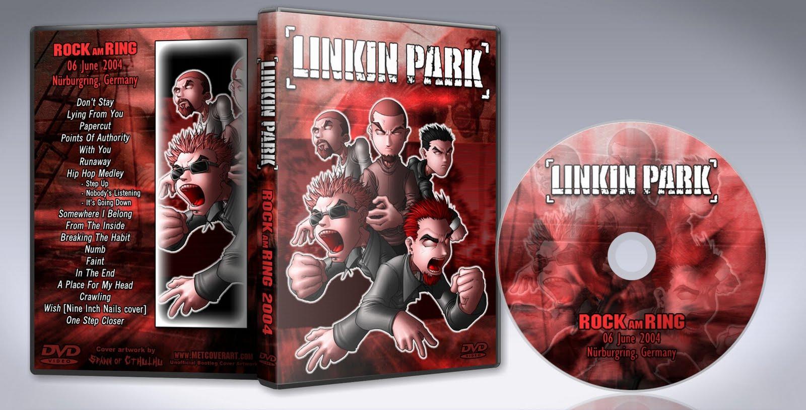 DVD Concert TH Power By Deer 5001: Linkin Park - 2004 - Rock Am Ring ...
