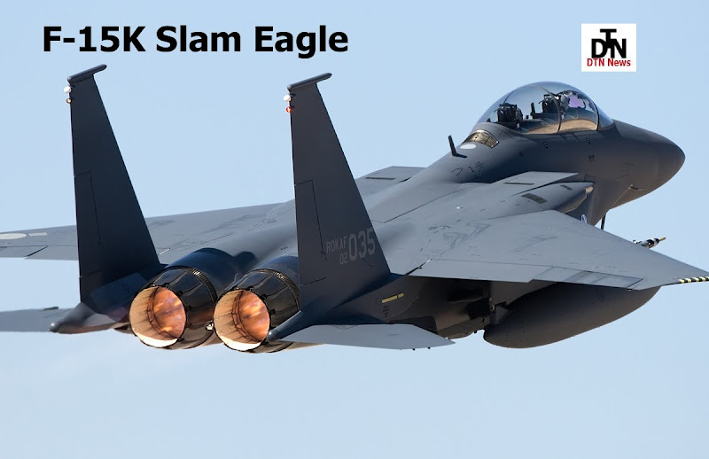 F-15K Slam Eagle Rokaf Fighter Jet